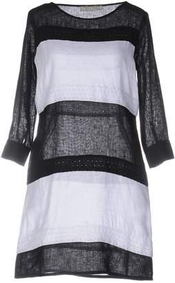 120% Lino Short dresses