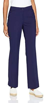 Anne Klein Women's Cotton Double Weave Sailor Pant
