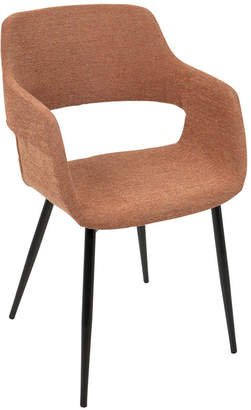 Asstd National Brand Margarite Mid-Century Upholstered Armchairs - Setof 2