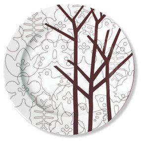 notNeutral Season - Brown Serving Plate