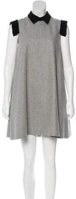 Edit Wool A-Line Dress