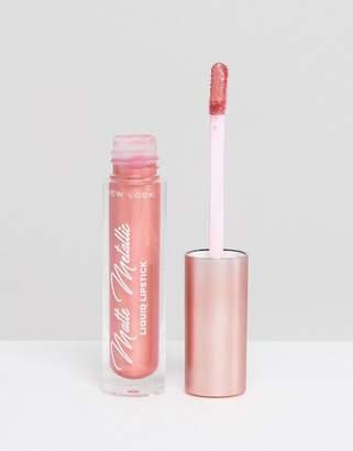 New Look Metallic Matte Liquid Lipstick