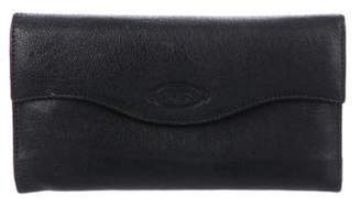 Tod's Leather Continental Wallet