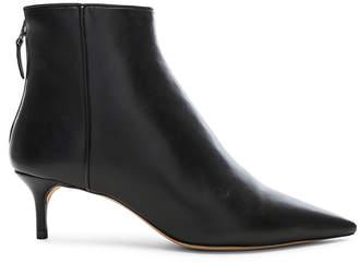 Alexandre Birman Leather Kittie Ankle Boots in Black | FWRD