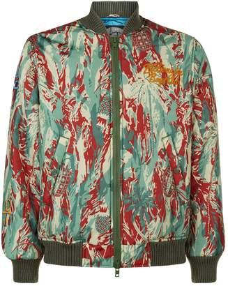Billionaire Boys Club Camouflage Embroidered Bomber Jacket