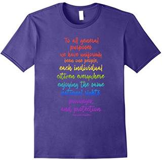 Lives Matter Pride Equality Hamilton Quote T-Shirt