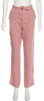 Isabel Marant High-Rise Straight-Leg Pants