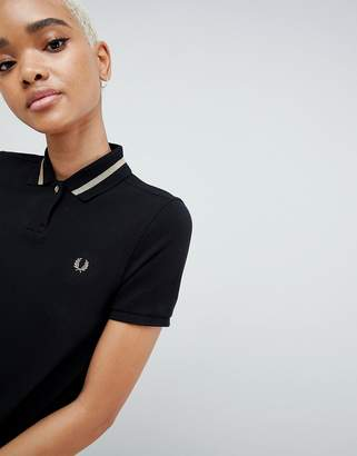 Fred Perry Pleat Back Polo Shirt