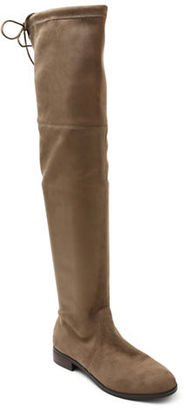 Kensie Thom Microsuede Over-the-Knee Boots $119 thestylecure.com