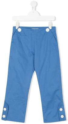 Marni contrast button trousers