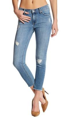 Lucky Brand Brooke Frayed Hem Capri Jean $99 thestylecure.com
