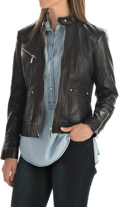 Bernardo Leather Jacket (For Women) $149.99 thestylecure.com