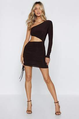 Nasty Gal Let's Go Cut-Out Tonight Mini Dress