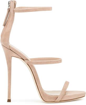 Giuseppe Zanotti Harmony blush suede sandals