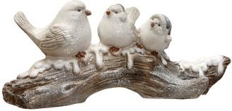"National Christmas Tree 10"" Birds on a Branch Table Decor"