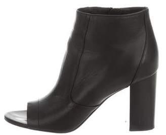 Vince Peep-Toe Ankle Boots