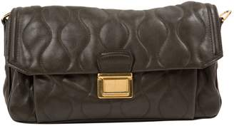 Miu Miu Matelasse Brown Leather Handbag