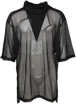 Y-3 Mesh T-shirt Dress