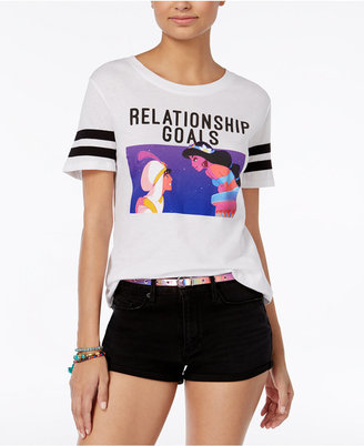 Disney Juniors' Aladdin Relationship Goals Graphic T-Shirt $24 thestylecure.com