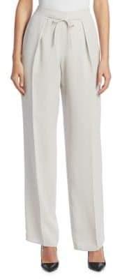 Emporio Armani Silk Drawstring Pants