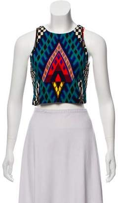 Mara Hoffman Printed Crop Top