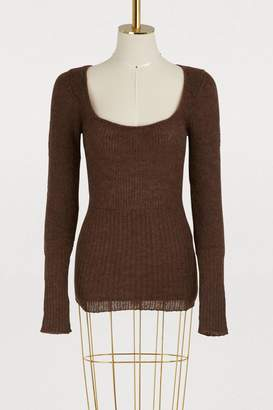 Jacquemus Dao virgin wool and alapaca sweater