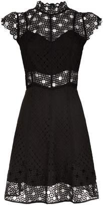 Sandro Crochet Dress