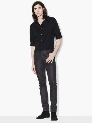 John Varvatos Slim Fit Rolled Sleeve Shirt