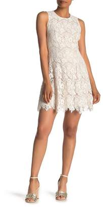 Vince Camuto Sleeveless Lace Bodycon Dress