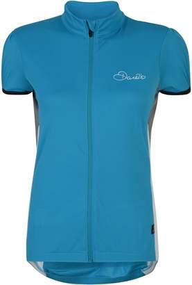Dare 2b Womens/Ladies Decorum Full Zip Short Sleeve Cycling Jersey