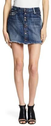 True Religion Deconstructed Step Hem Skirt