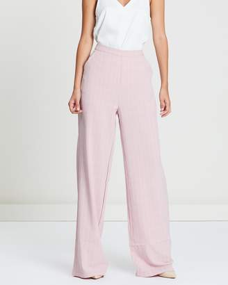 Missguided Check Co-Ord Wide Leg Trousers