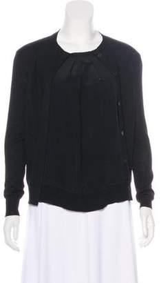 Miu Miu Long Sleeve Cardigan Top