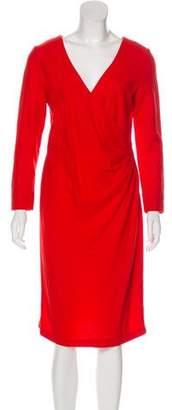 Tory Burch Wool Midi Dress