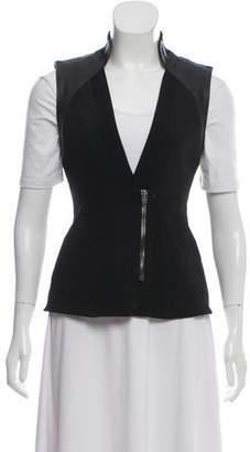 Alexander Wang Perforated Zip-Up Vest