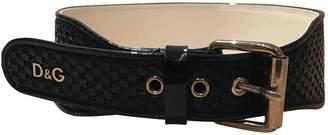 Dolce & Gabbana Blue Leather Belts