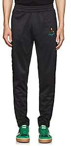 Marcelo Burlon County of Milan County of Milan X Kappa Men's Logo-Embroidered Tech-Jersey Track Pants - Black
