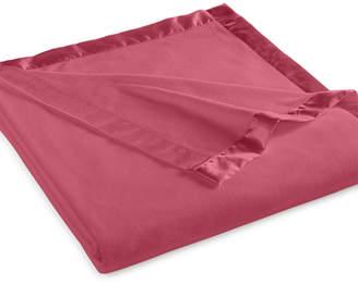 Martha Stewart Collection Soft Fleece Twin Blanket