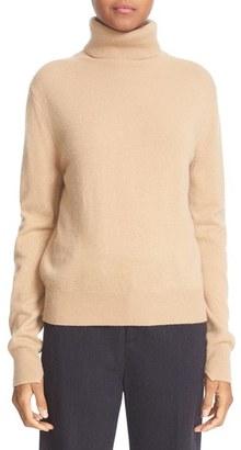 Vince Cashmere Turtleneck Sweater $320 thestylecure.com