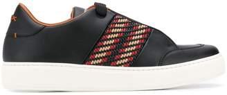 Ermenegildo Zegna woven detail sneakers