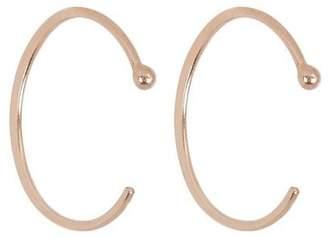 Melissa Joy Manning Large Gold Hug Hoop Earrings