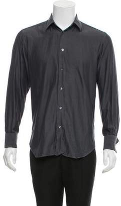 Dolce & Gabbana French Cuff Button-Up Shirt