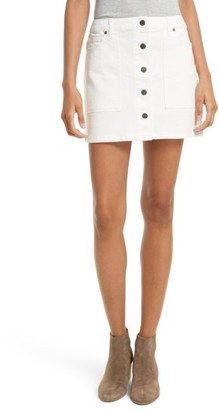 Rebecca Minkoff Women's Rufus Denim Miniskirt