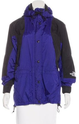 The North Face Hooded Zip-Up Jacket $85 thestylecure.com