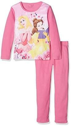 Disney Princess Girl's Long Pyjama Set, (Manufacturer Size: 3 Years)