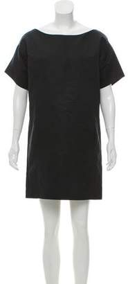 Cédric Charlier Short Sleeve Mini Dress