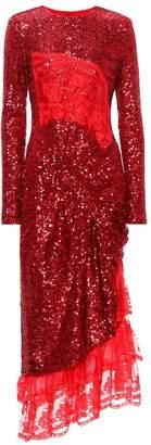 Preen by Thornton Bregazzi Mae sequinned dress