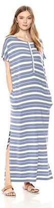 Pendleton Women's Stripe Henley Maxi Dress