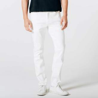 DSTLD Mens Skinny-Slim Jeans in White