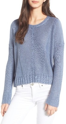Women's Rails Elsa Crop Sweater $158 thestylecure.com